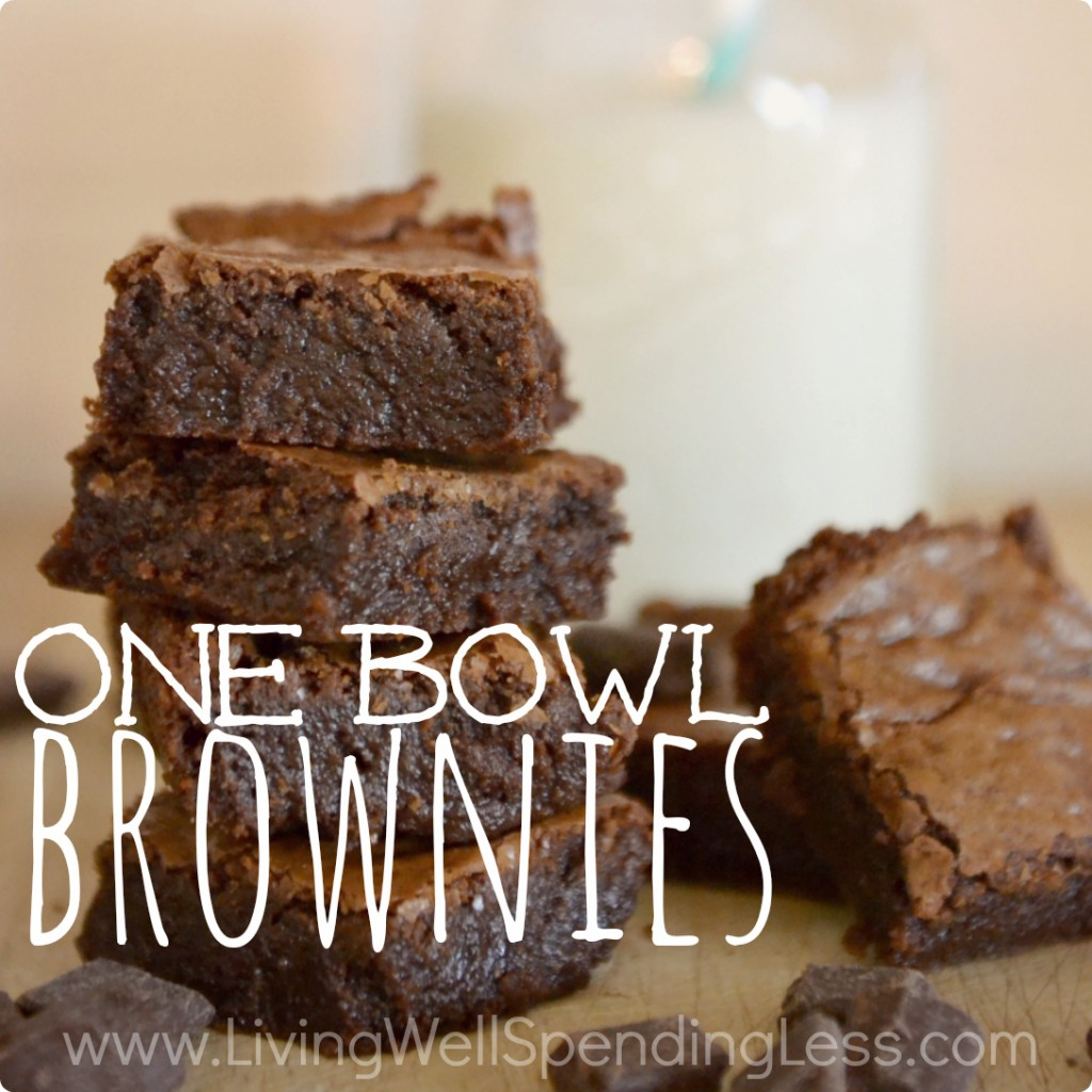 One Bowl Brownies | One Bowl Brownies Recipe | Brownies Recipe | Easy Yummy Brownies | Bake Goods | Kids Snacks