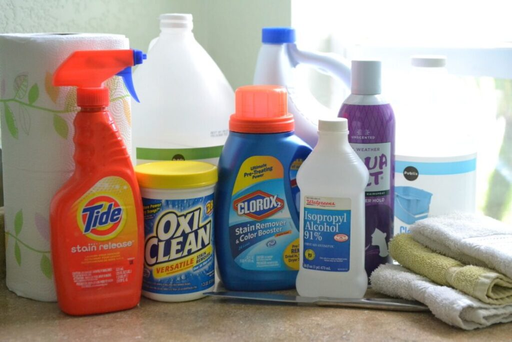 Your must have items for stain removal