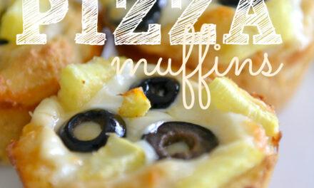 Kid Friendly Pizza Muffins
