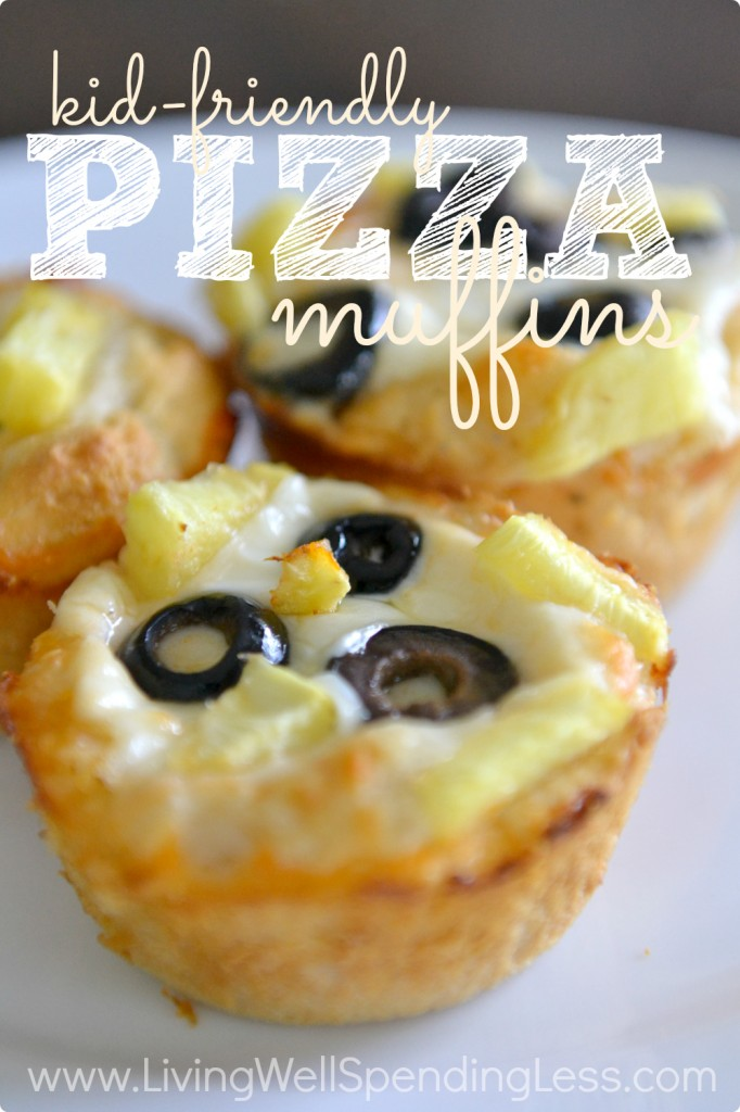 Kid Friendly Pizza Muffins   Muffin Tin Recipes   Kids Dinner Ideas   Pizza Biscuits   Easy Stuffed Pizza Muffins   Easy Pepperoni Pizza Muffins