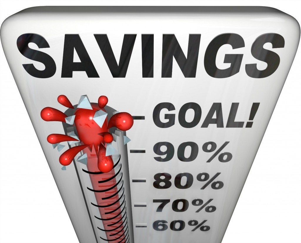 Set a savings goal and find fun ways to motivate yourself to hit that goal.