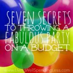 Seven Secrets to a Fabulous Party Square