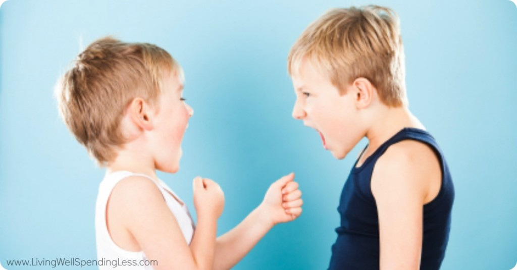When boys are yelling at each other, pay attention to what's happening before it escalates.