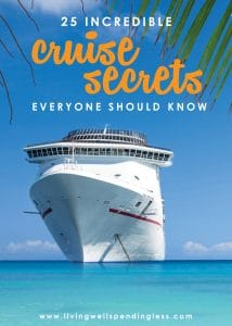 The Cruise secrets everyone should know. Learning how to save money on your next cruise.