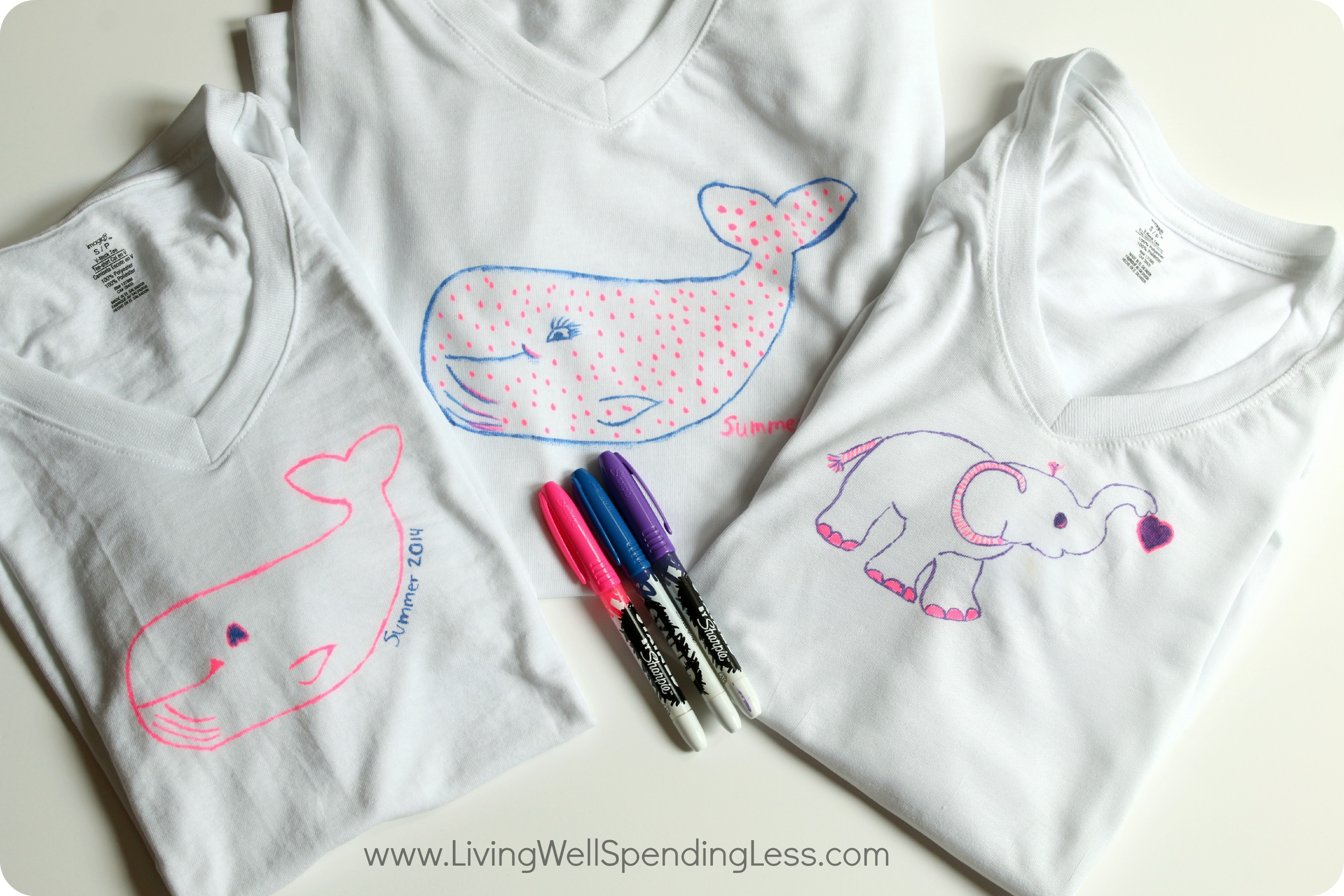 Diy sharpie stained t shirts diy t shirt diy crafts for How to put a picture on a shirt diy