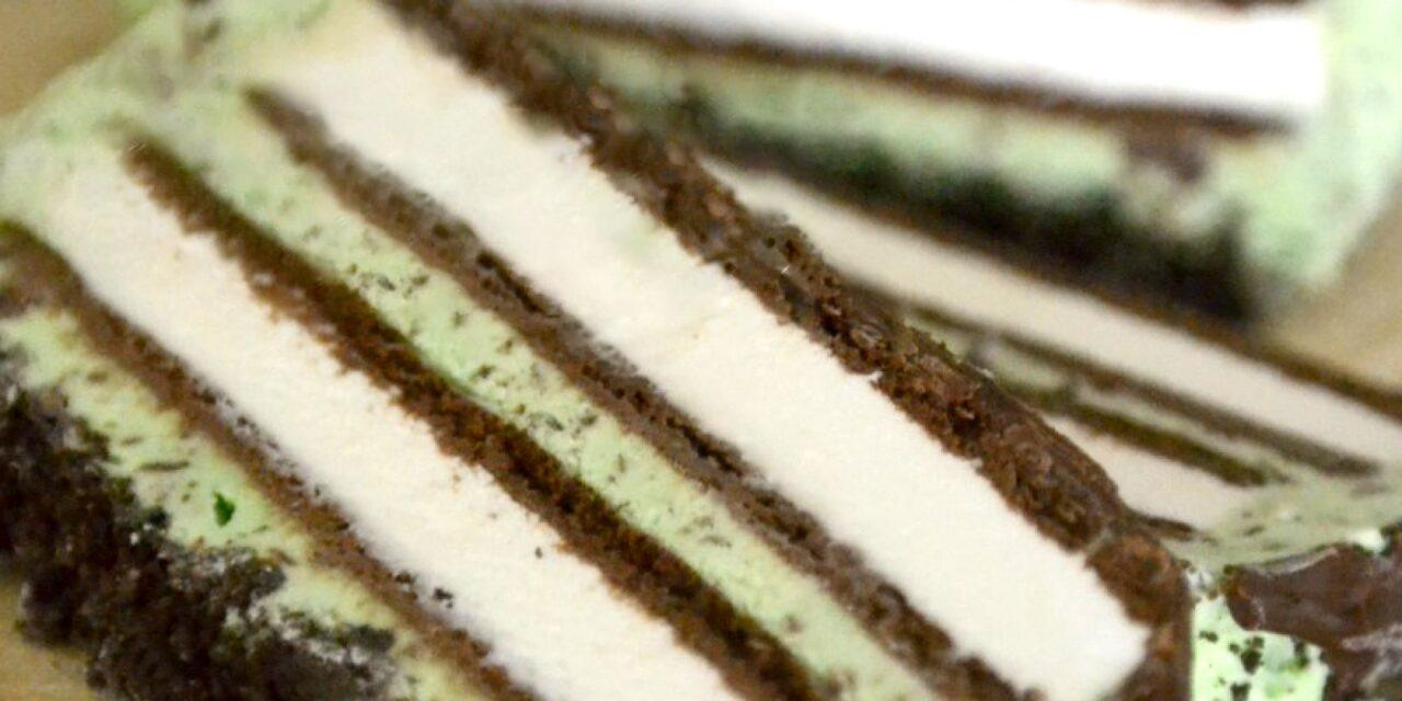 Five Minute Ice Cream Cake