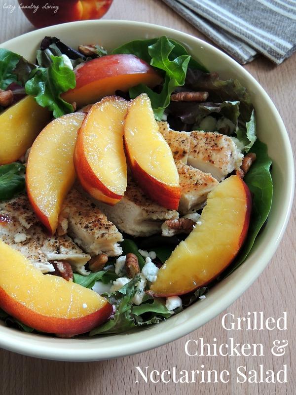 Grilled-Chicken-Nectarine-Salad