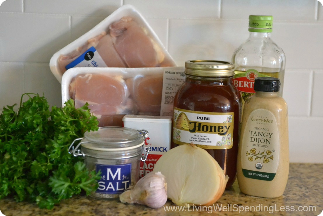 Easy Honey Dijon Chicken | 10 Meals in an Hour | Freezer Cooking | Main Course Options | Honey Mustard Chicken Recipe