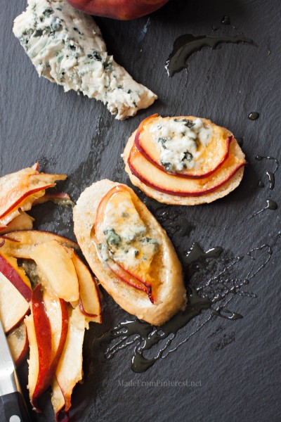 Peach-honey-and-bleu-cheese-crostini-a-little-bite-of-summer-e1403015805583