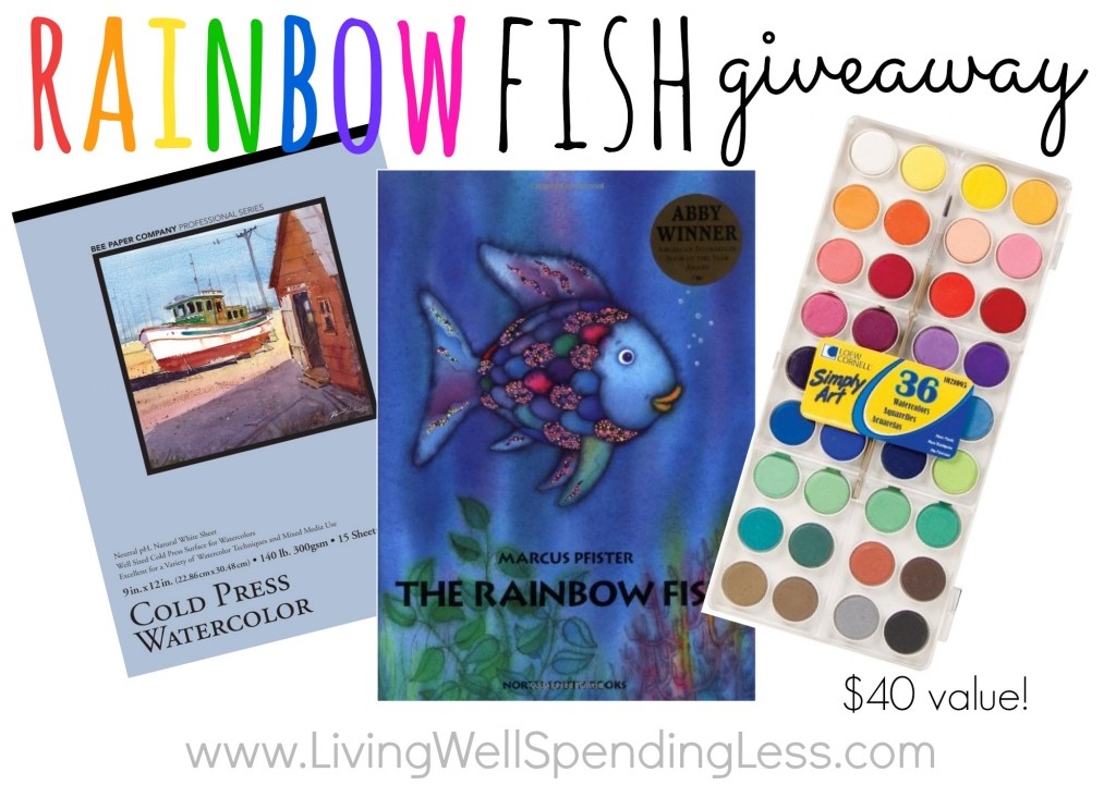 Rainbow Fish Puppet giveaway