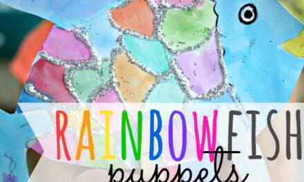 Rainbow Fish Puppets