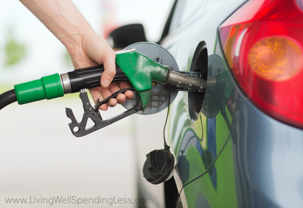 Saving money on gas starts with limiting your driving.