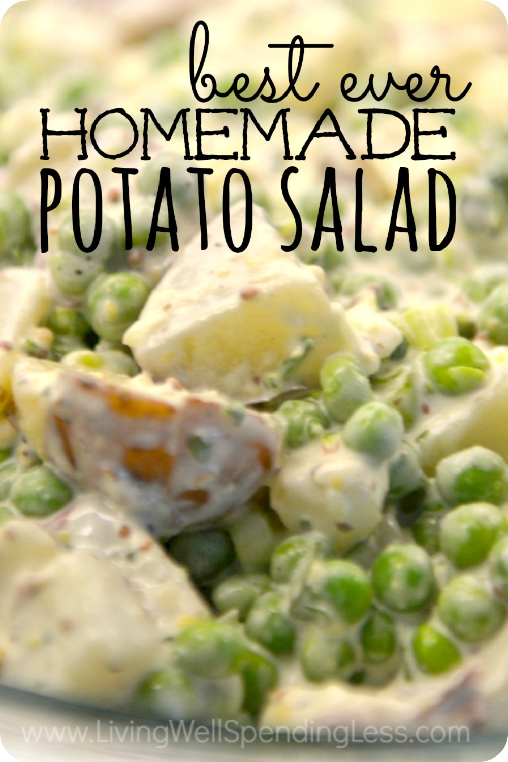 Best ever homemade potato salad Vertical 1