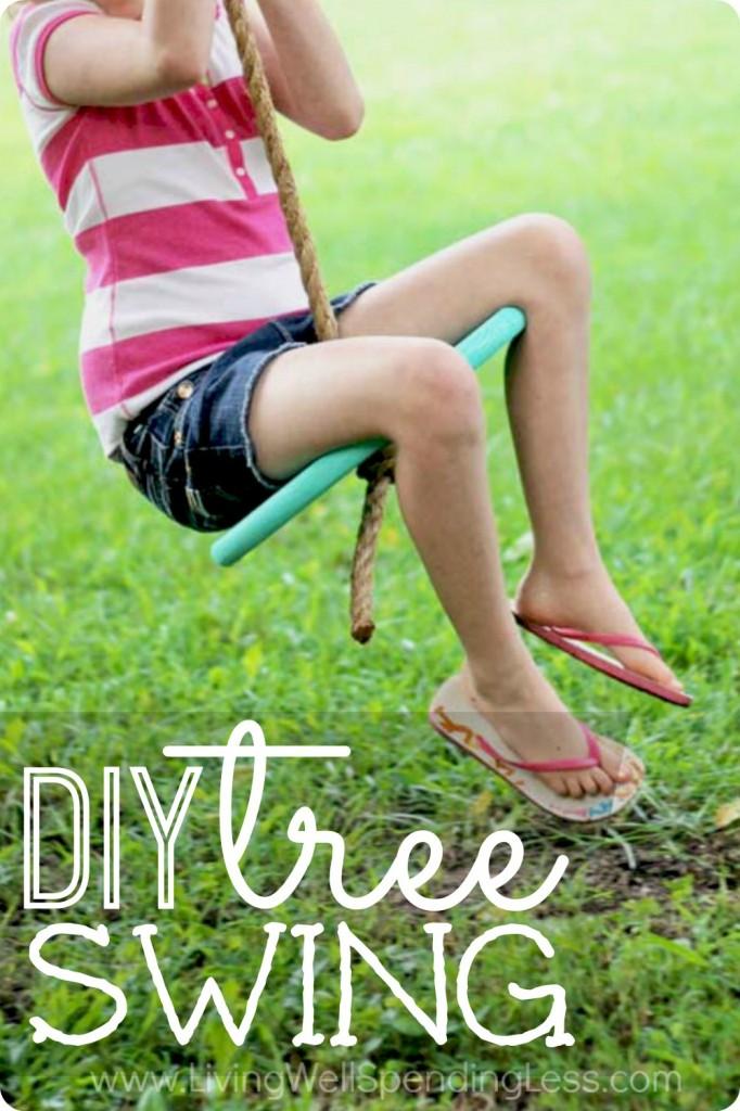 DIY Tree Swing Vertical 2