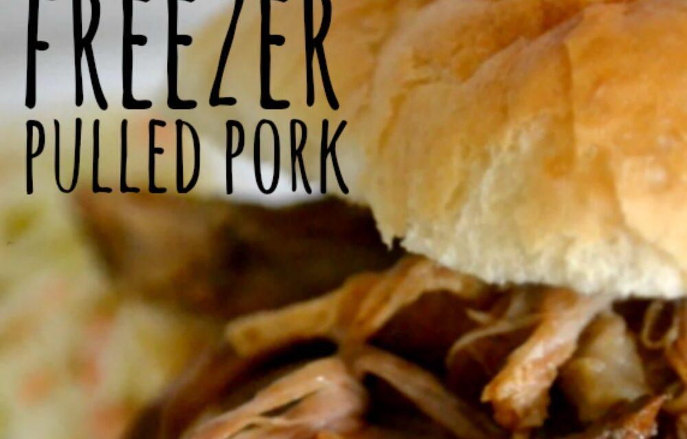 Easy Freezer Pulled Pork