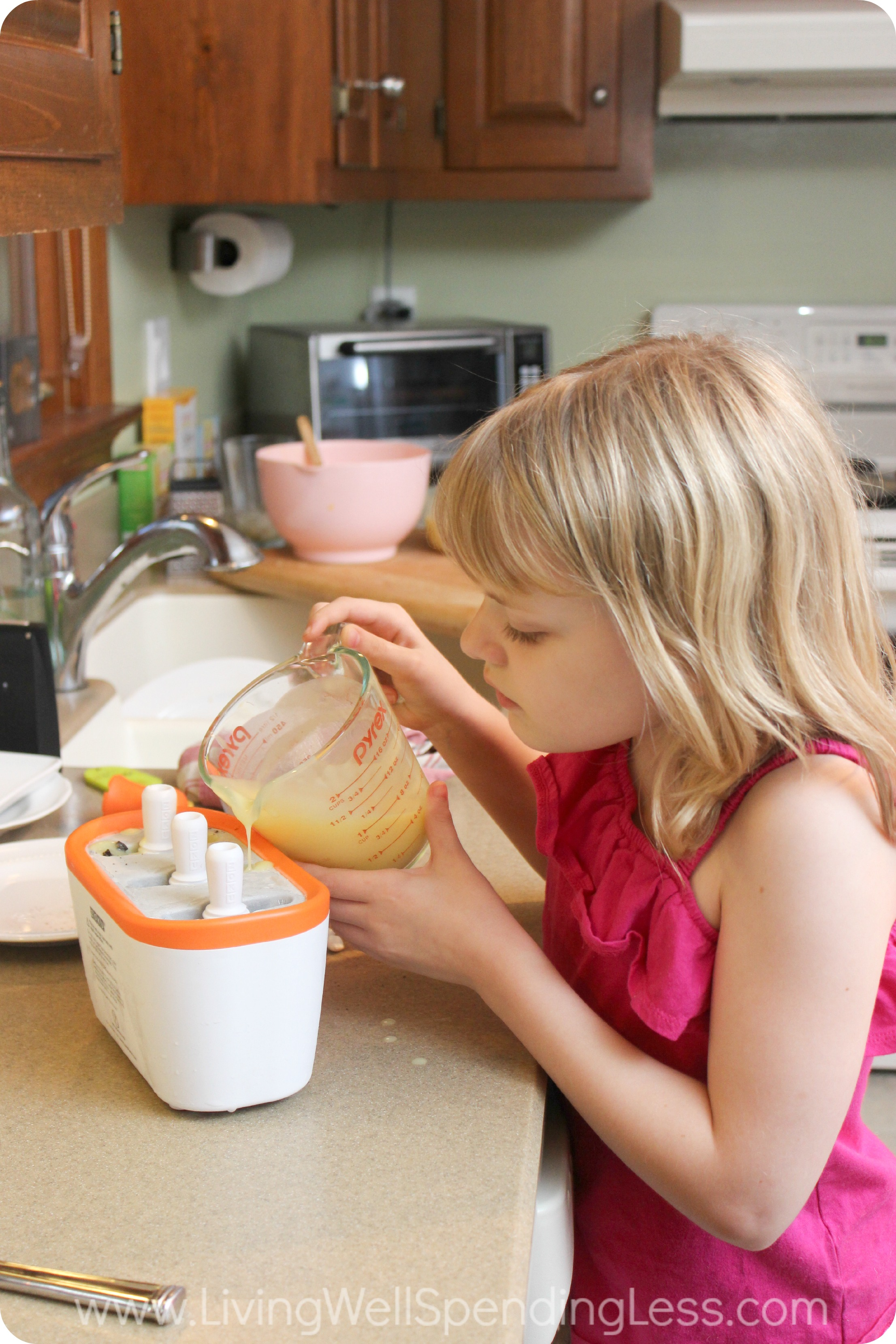Kids love creating their own yummy treats!