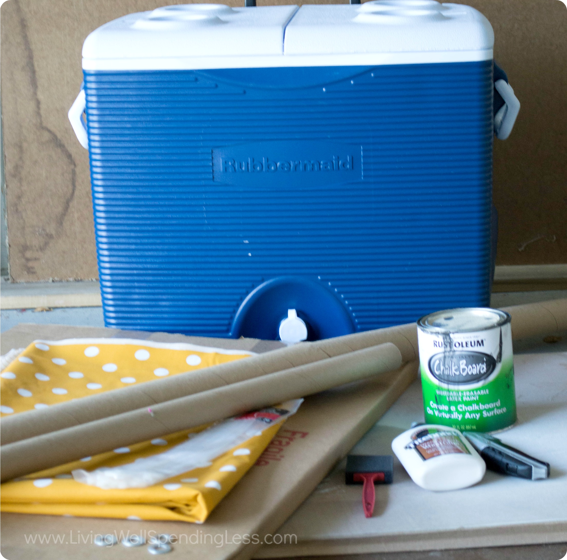 This easy DIY slushie stand is a perfect project for the summer that your kids will love