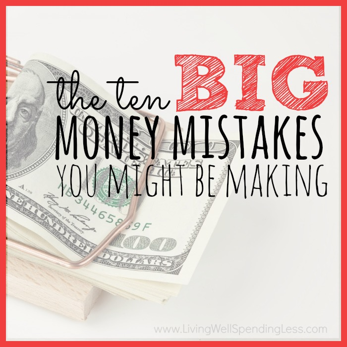 BIG Money Mistakes | Saving Tips | Money Management | Budget Hacks | Financial Freedom | Money Blunders | Common Money Mistakes