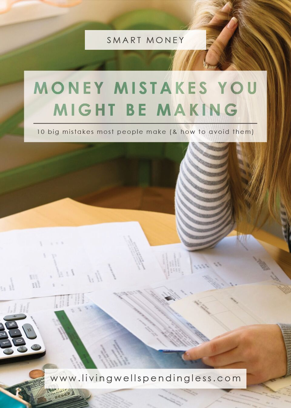 BIG Money Mistakes | Saving Tips | Money Management | Budget Hacks | Financial Freedom | Money Blunders | Common Money Mistakes