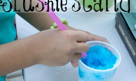 Easy Rolling Slushie Stand