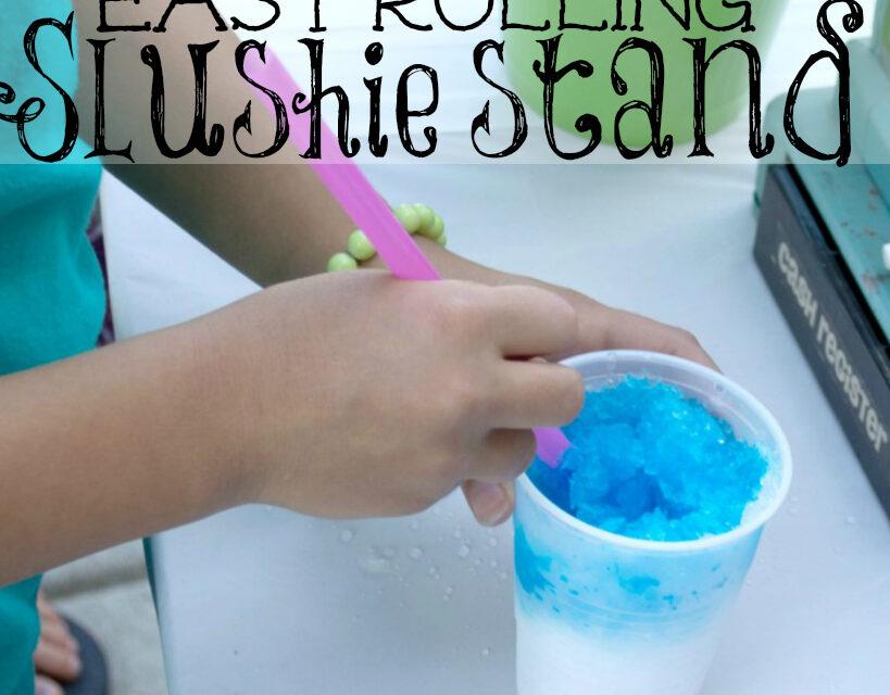 Easy Rolling Slushie Stand