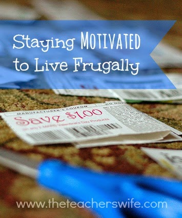 Staying Motivated to Life Frugally