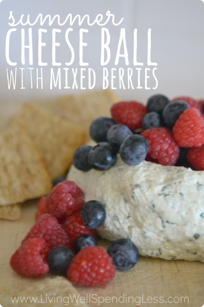 Summer Cheese Ball Vertical