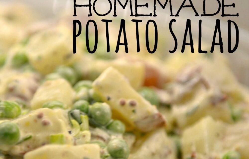 Best Ever Homemade Potato Salad