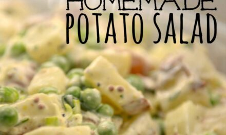 Best Ever Homemade Potato Salad