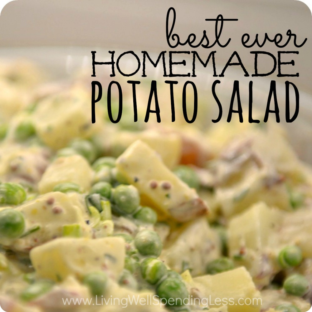 best ever homemade potato salad square 1