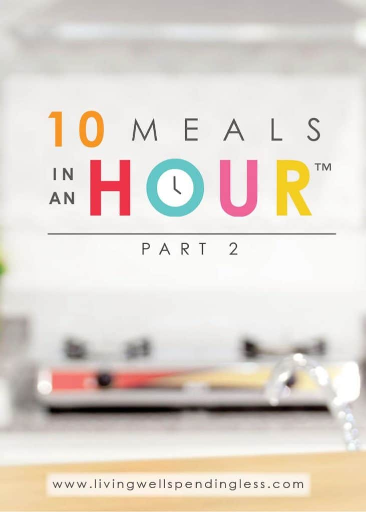 10 Meals in an Hour™ Part 2   Easy Freezer Cooking Meal Plan   Food Made Simple   Freezer Cooking