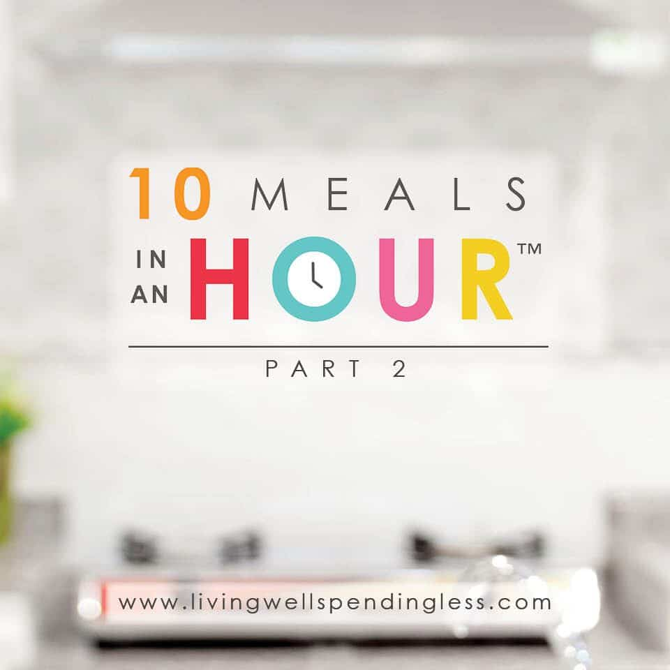 10 Meals in an Hour™ Part 2 | Easy Freezer Cooking Meal Plan | Food Made Simple | Freezer Cooking