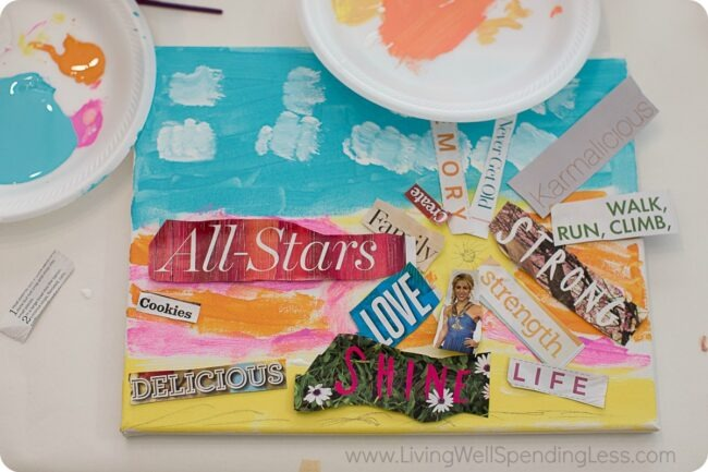 Looking for a fun and easy craft project to tackle this year? This kid collage art project will keep children entertained all afternoon!