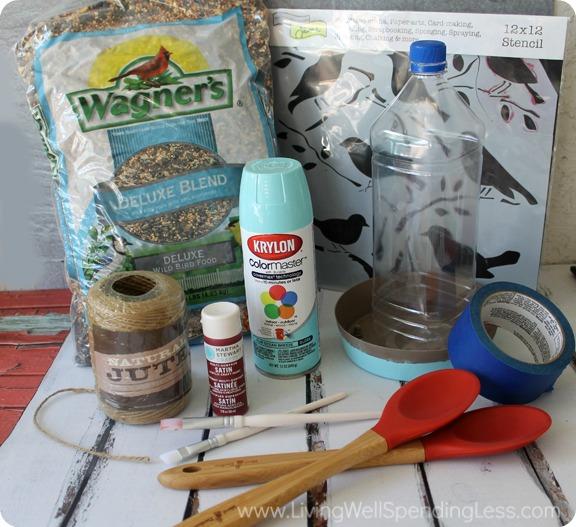 DIY Bird Feeder - Summer Fun With Kids 9