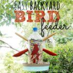 Easy Backyard Bird Feeder Square