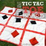 Giant DIY Tic Tac Toe Board Square 1