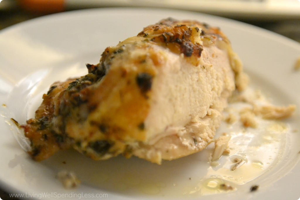 Herb Roasted Chicken Breast Living Well Spending Less 174