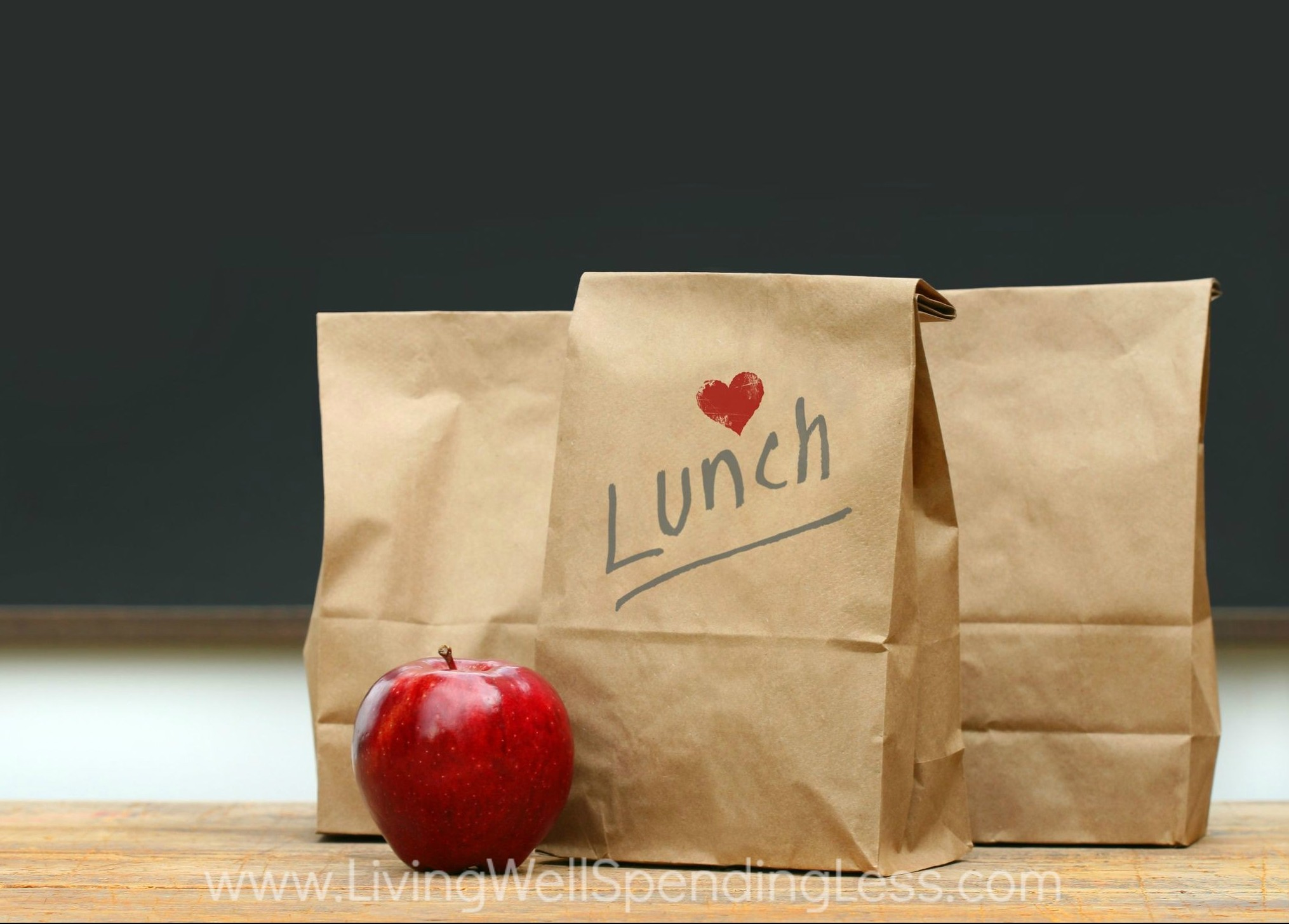 You can prep your meals ahead including lunch. Assemble your brown bag lunches for the entire week ahead.