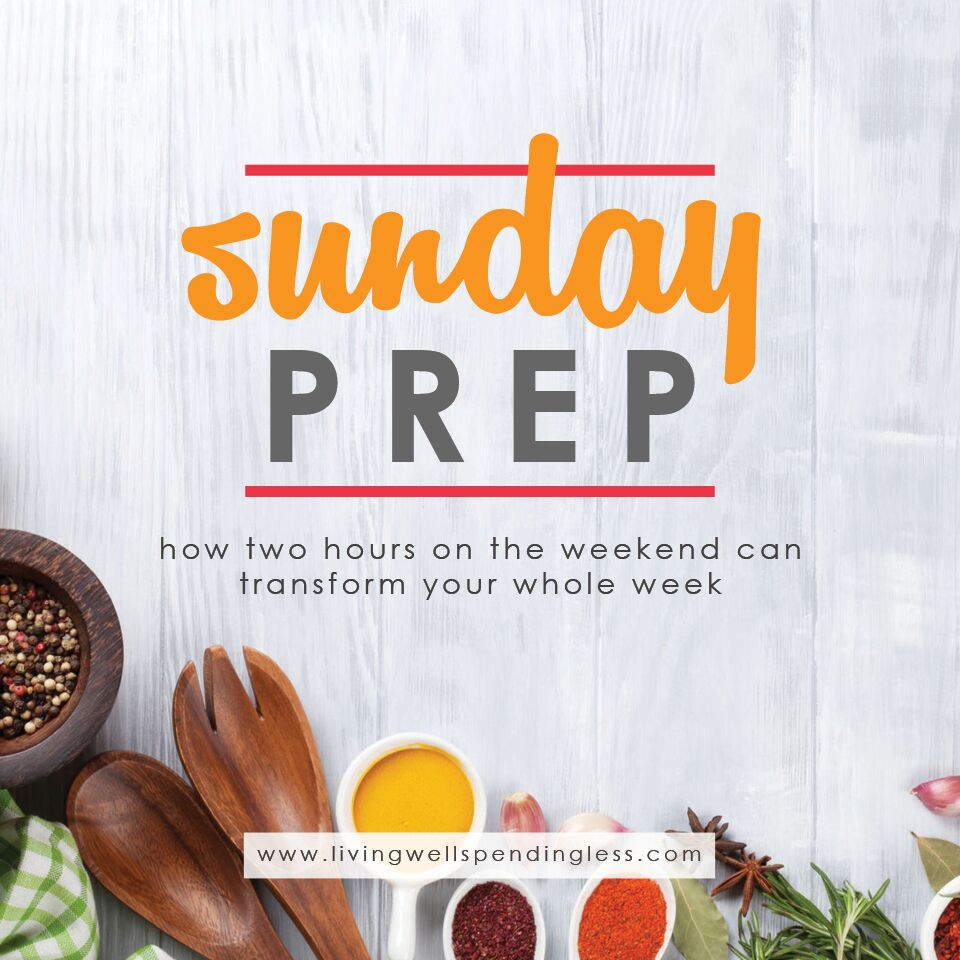 Meal Prep Sunday Ideas