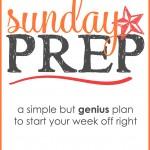 Sunday Prep | Meal Prep Sunday | Meal Prep Sunday Ideas | Sunday Meal Ideas | Meal Planning | Weekly Meal Plan | meal prep sunday recipes | Easy prep meals | meal prep