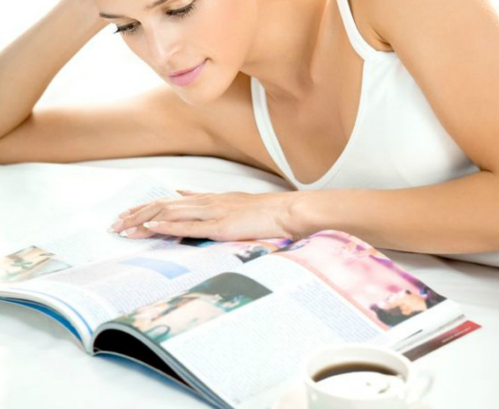 Browsing different magazines is a helpful way to develop your design style.