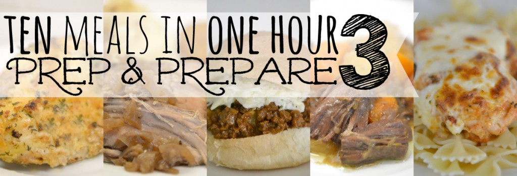Meals in an Hour | Food | Freezer Cooking | Cheesy Chicken & Rice Casserole | Easy Freezer Ham & Bean Soup | Simple Cranberry Chicken | Balsamic Roast Beef | Sweet & Spicy Chinese Chicken