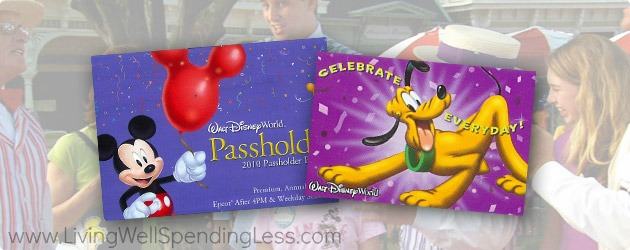 An annual pass is a great way to save at the Disney parks.