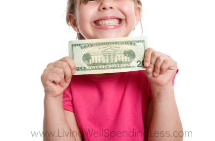 Give your kids a budget (like $20 per trip) they can spend on a souvenir.