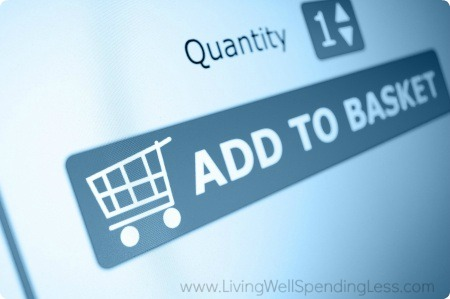 Online shopping is easy to do when you're an impulsive shopper but have patience!