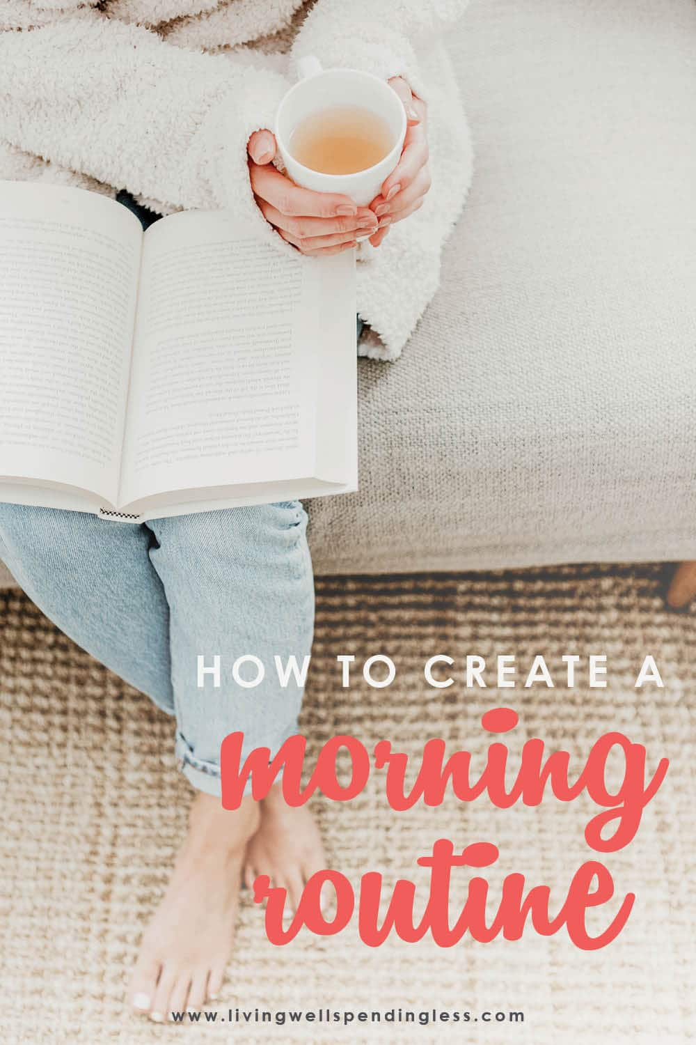 Do you ever wish your mornings ran more smoothly, or better yet, on autopilot? If you ever struggle with getting yourself or your family out the door, you will not want to miss these 6 simple steps for creating a morning routine that truly works. FREE PRINTABLES are included to help you make the most of your morning!