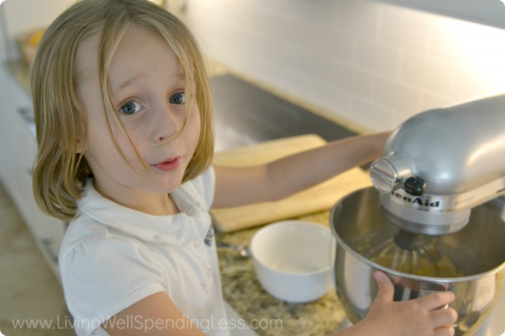 Kids love to help with this easy butterscotch cookie recipe.