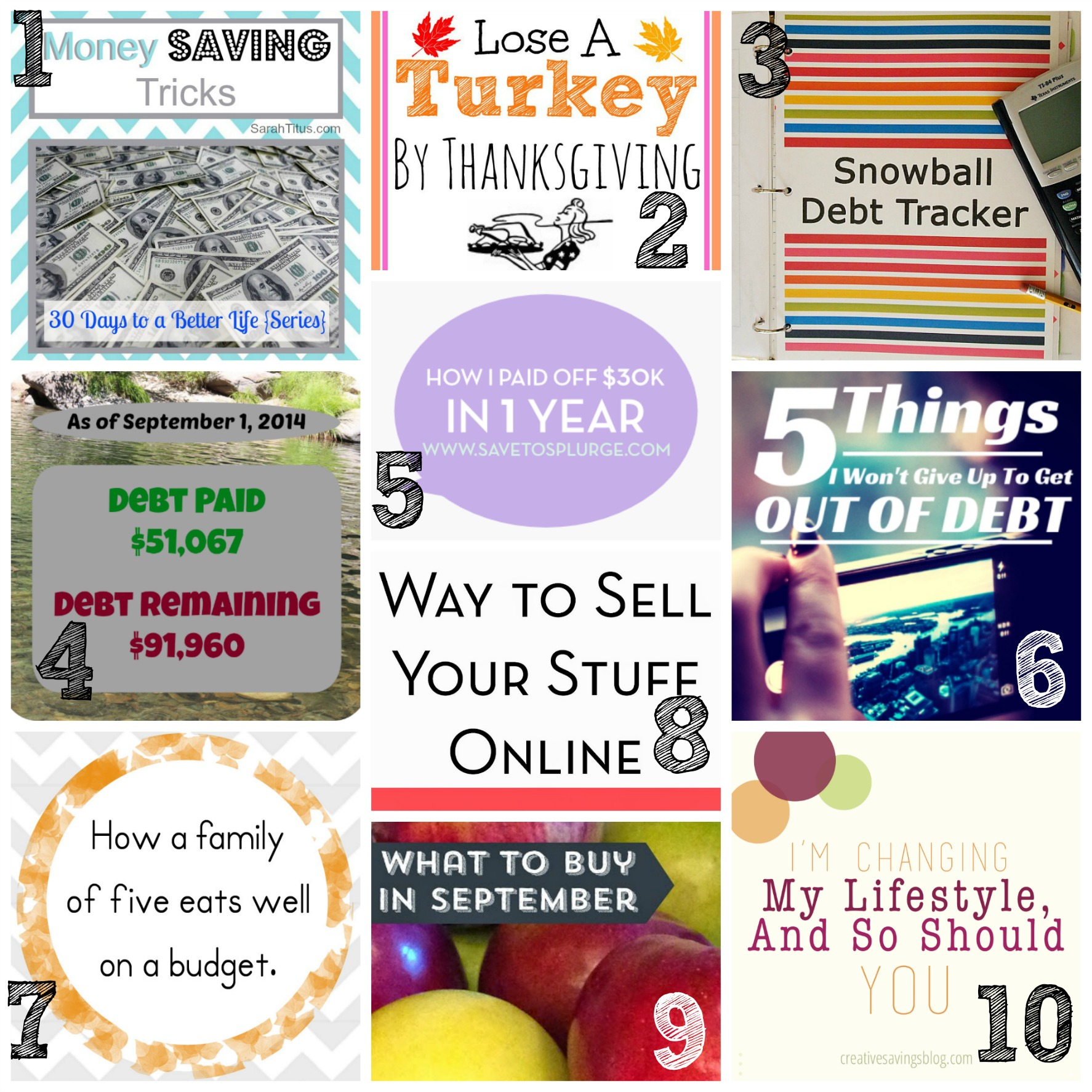 Thrifty Thursday | Roundup Blogs |  How to Blog for Profit (Without Selling Your Soul) | EBA | Elite Blog Academy | 30 Days to a Better Life | September Menu Planning