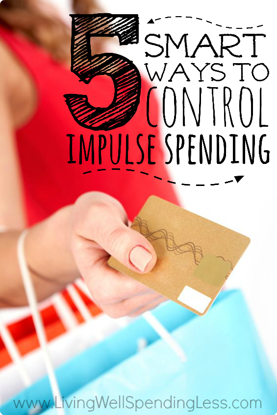 Control Impulse Spending | Budget Management | Spend Less | Shopping on a Budget