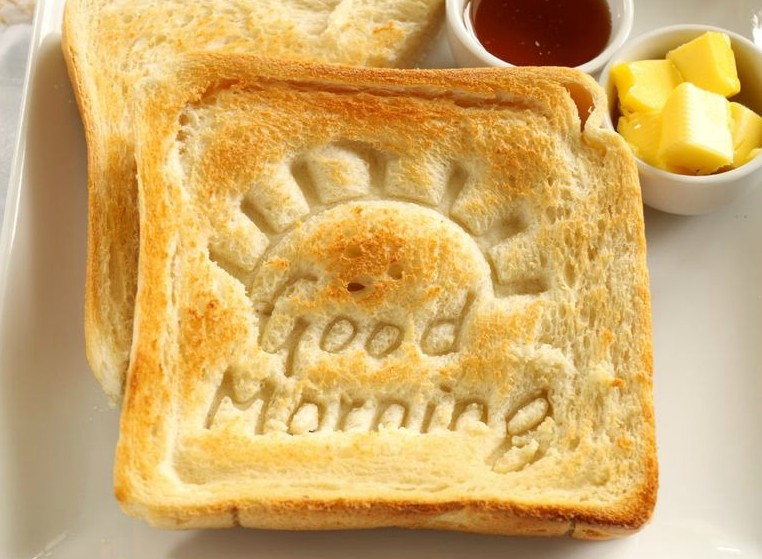 Start each morning with a great breakfast to live a happy, healthy life.